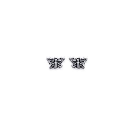 Boucles d'oreilles Papillon en Argent 925°°°