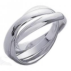 Bague 3 anneaux en Argent 925