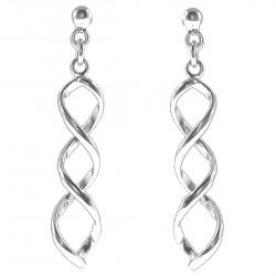 Boucles d'oreilles pendantes en Argent 925